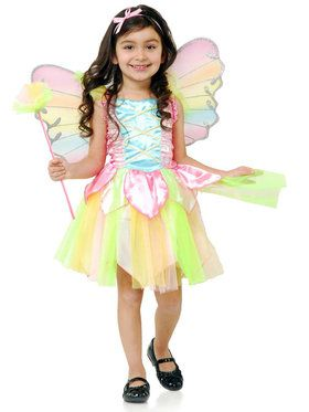 Rainbow Princess Fairy Costume For Children