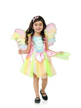 Toddler's Rainbow Princess Fairy Costume