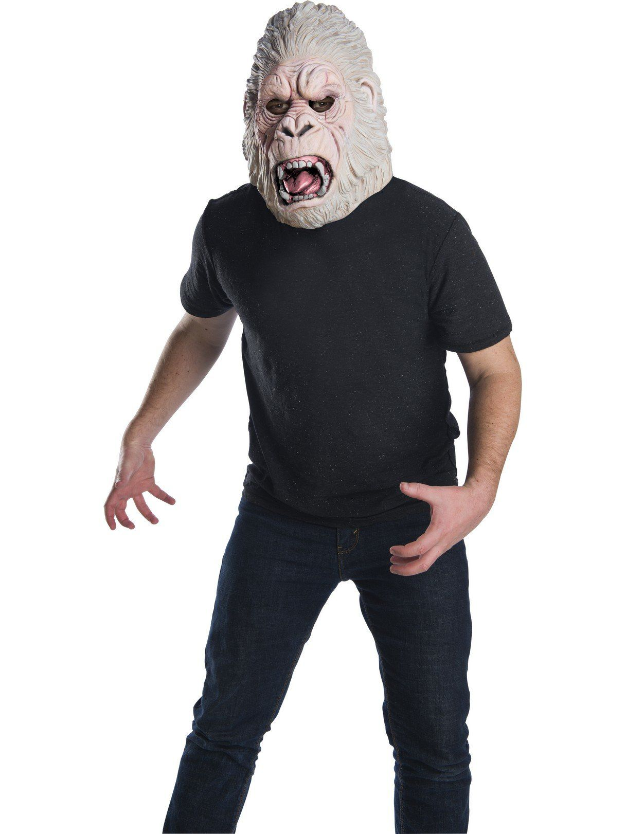 adult rampage george full latex mask - adult costumes for 2018