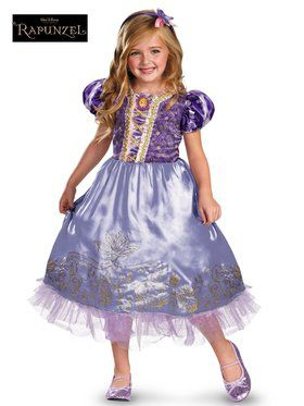 Rapunzel Sparkle Children's Costume