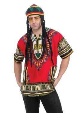 Adult Rastafarian Costume Accessory Kit