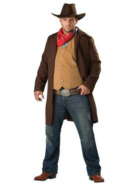 Rawhide Renegade Adult Plus Costume