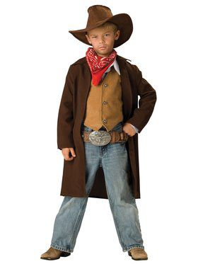 Rawhide Renegade Costume for Boys