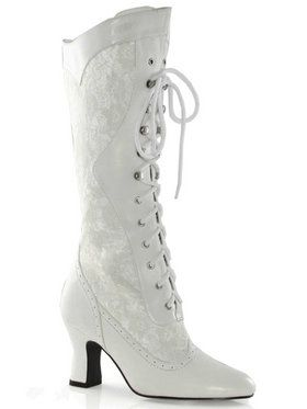 2.5 in Heel Boots with Lace