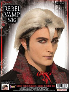 Rebel Vamp Male Wig Accessory