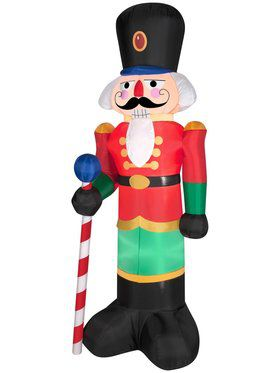 Inflatable 6.5 Ft Royal Nutcracker