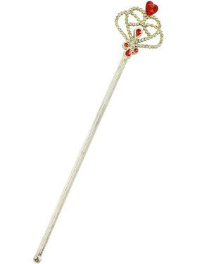 Red and Gold Princess Wand - One Size