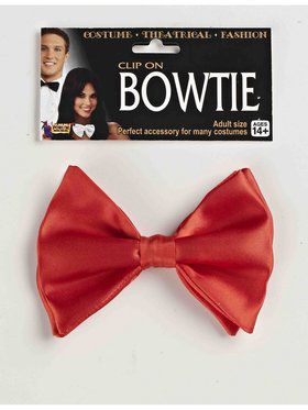 Adult Red Bow Tie