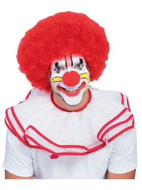 Red Clown Wig Adult