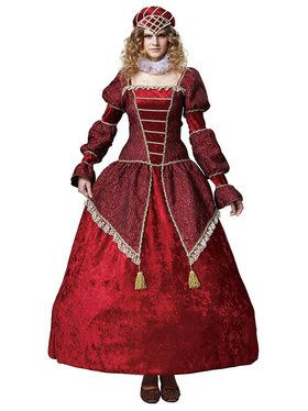 Red Countess Women's Costume