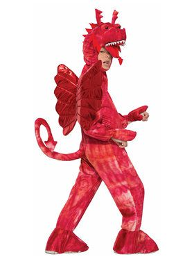 Red Dragon Boy's Costume