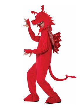 Red Dragon Men's Costume