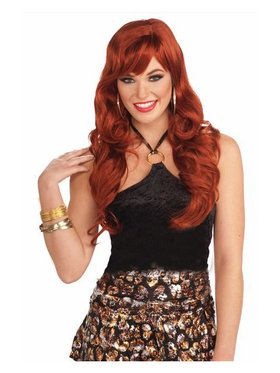 Red Dream Girl Wig Adult