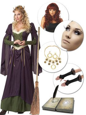 Redheaded Witch Hocus Pocus Movie Character Kit