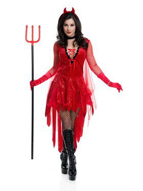 Red Hot Devil Adult Costume