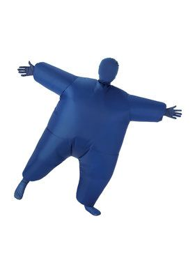 Blue Inflatable Kids Costume