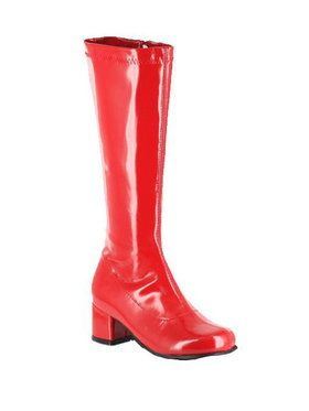 Red Patent Gogo Boot Child