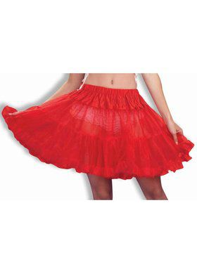 Red Petticoat Adult