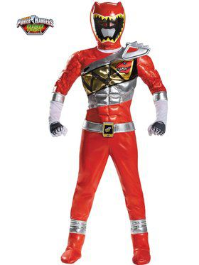 Red Ranger Dino Charge Prestige Boy's Costume