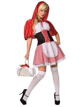 Red Riding Hood Costume For Adults
