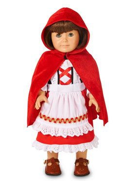 Red Riding Hood 18 Doll Costume