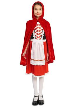 Classic Child Red Riding Hood Costume