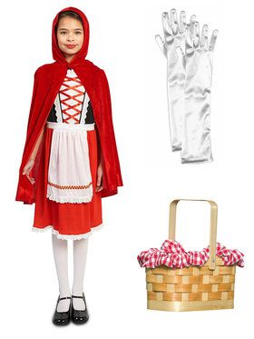 Red Riding Hood Classic Child Costume Kit
