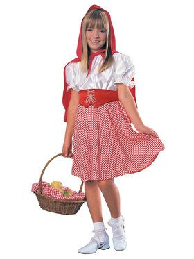 Red Riding Hood Classic Costume For Children