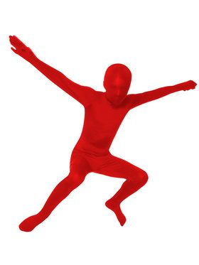 Red Skin Suit Costume For Children