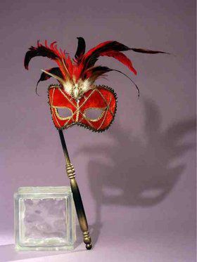 Red Stick Mask Accessory