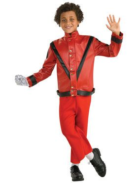 Red Thriller Michael Jackson Jacket Deluxe For Children  sc 1 st  Wholesale Halloween Costumes & Kids Elvis Presley Costume - Boys Costumes for 2018 | Wholesale ...