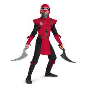 Red Viper Ninja Deluxe Boy's Costume