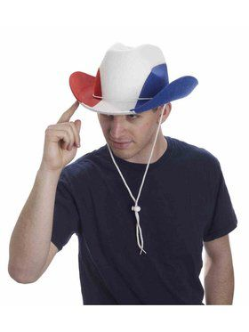 Patriotic Cowboy Hat for Men