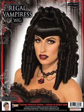 Regal Vampiress Adult Female Wig