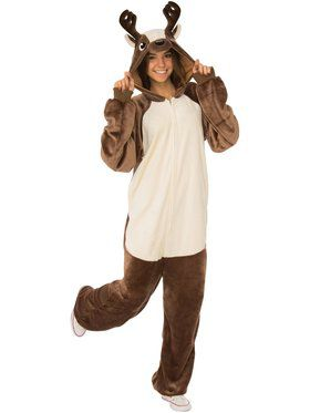 Reindeer Comfy Wear Adult Costume