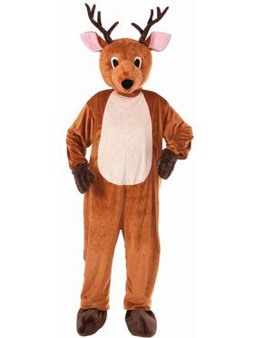 Reindeer Mascot Costume For Adults