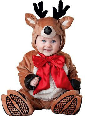 Reindeer Rascal Costume Infant Toddler