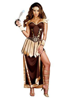 Remember the Trojans Sexy Warrior Costume