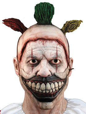 Removable Mouth Twisty the Clown Complete Mask