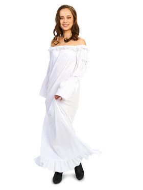 Adult Renaissance Chemise Dress Costume For Adults