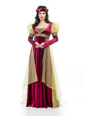 Women's Lady of the Court Costume