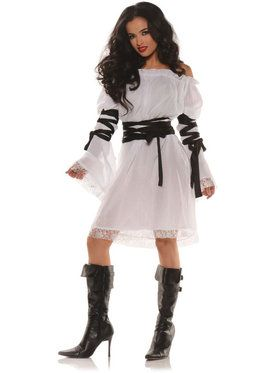 Renaissance Pirate Chemise Women's Costume