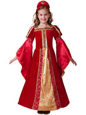 Renaissance Princess Deluxe Girl's Costume