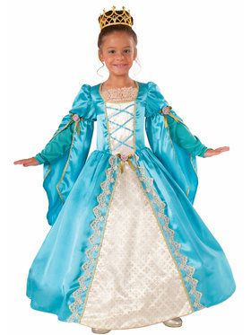 Renaissance Queen Girl's Costume