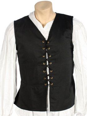 Renaissance Vest Black for Men