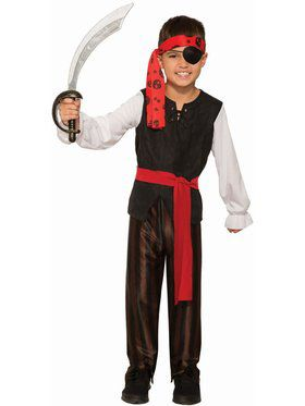 Renegade Pirate Boy Child Costume