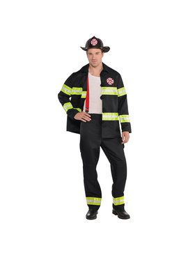 Men's Hot Stuff Fireman Costume