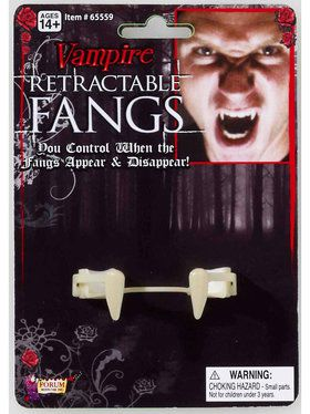 Retractable Vampire Fangs For Adults