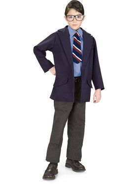 Superman Reversible Clark Kent/ Superman Costume
