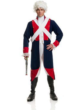 Adult's Revolutionary Soldier Costume